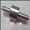 8mm (5/16) Straight MINI Non Return Valve Aluminium - Fuel Check Valve Air Water Pipe Tube Hose